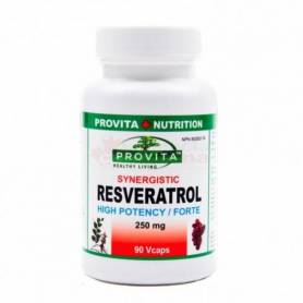 Resveratrol 250mg, 90 Vcaps, Organika Provita Nutrition
