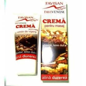 CREMA CU VENIN DE VIPERA FAVIVENOM 50ml - FAVISAN