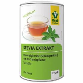 STEVIA PULBERE EXTRACT SOLUBIL PREMIUM 50g, Raab