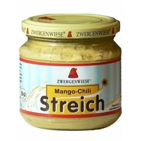 Pate vegetal bio cu CHILI SI MANGO 180g - Zwergenwiese