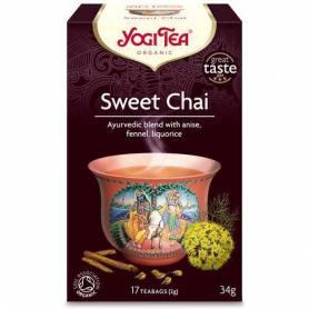 SWEET CHAI - CEAI DULCE BIO 17pl ECO-BIO - Yogi Tea