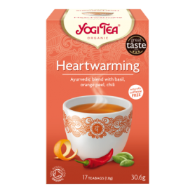 CEAI HEARTWARMING - BUCURIA VIETII 17pl ECO-BIO - Yogi Tea