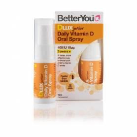 DLuxJunior Vitamin D 400 UI, 10mcg Oral Spray 15ml, BetterYou