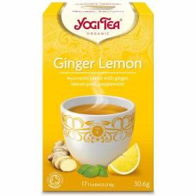 Ceai de ghimbir si lamaie 17pl ECO-BIO - Yogi Tea - Pronat