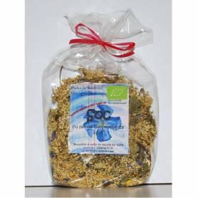 Ceai Soc cu petale decorative de flori bio 30g - Biofarmland