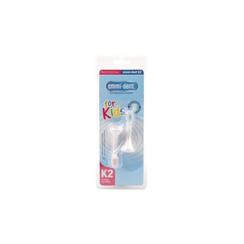 Rezerva periuta de dinti ultrasonica Emmi-dent K2 METALLIC pentru copii - 2 buc