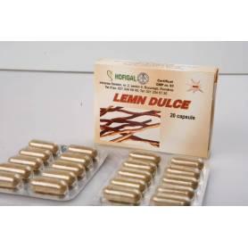 Lemn dulce 400mg 20cps - Hofigal