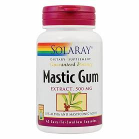 MASTIC GUM 500mg - SOLARAY - SECOM