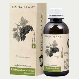 Elixir din fructe de soc 200ml - Dacia Plant