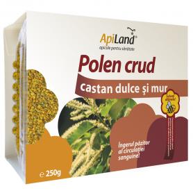 Polen CRUD de Castan Dulce si Mur 250g - Apiland