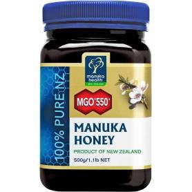 Miere MANUKA - MGO 550 - UMF 25+ - 500g - Manuka Health NZ