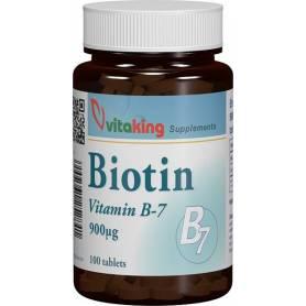 Vitamina B7 (BIOTINA) 900mcg - 100caps - VITAKING