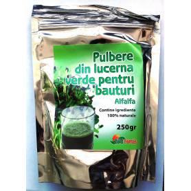 Alfalfa (lucerna) pulbere verde 250mg Madal