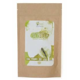Chlorella pulbere 125g raw eco-bio OBio