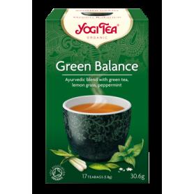 CEAI ECHILIBRU VERDE 17pl ECO-BIO - Yogi Tea