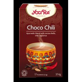 CEAI CHOCO CHILLI 17pl ECO-BIO - Yogi Tea