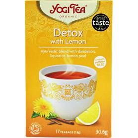 Ceai DETOXIFIANT CU LAMAIE 17pl ECO-BIO - Yogi Tea