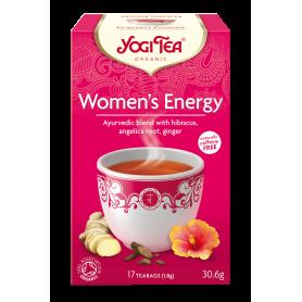 CEAI ENERGIE PENTRU FEMEI 17pl ECO-BIO - Yogi Tea