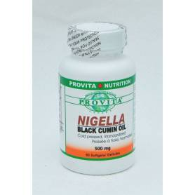 Nigella - ulei de chimen negru 500mg - 60cps - Organika