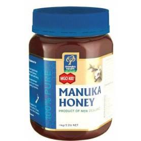 Miere MANUKA - MGO 400 - UMF 20+ - 1kg - Manuka Health NZ