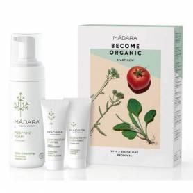 """""""Become organic"""" Set CADOU Spuma demachianta & creme hidratante - MADARA"""