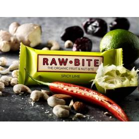 BATON SPICY LIME - LIME si CONDIMENTE 50g - RAW BITE