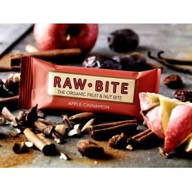 BATON APPLE CINNAMON - MAR CU SCORTISOARA 50g - RAW BITE