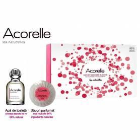 Set cadou ORCHIDEE BLANCHE Parfum 50ml + sapun 100g - Acorelle
