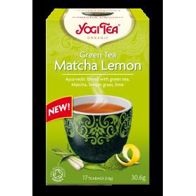 CEAI VERDE VERDE MATCHA CU LAMAIE 17pl ECO-BIO - Yogi Tea