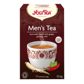 CEAI PENTRU BARBATI 17pl ECO-BIO - Yogi Tea
