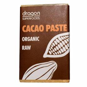 PASTA DE CACAO 100% BIO 200g - Dragon Superfoods