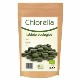 Chlorella tabele 500mg 250tb - 125g - OBio