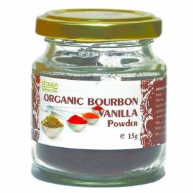 VANILIE DE BOURBON PUDRA BIO 15g  - Dragon Superfoods