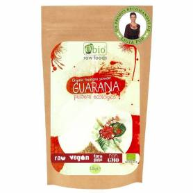 GUARANA pulbere raw bio 125g - OBio