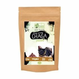 CHAGA pulbere raw bio 60g - OBio