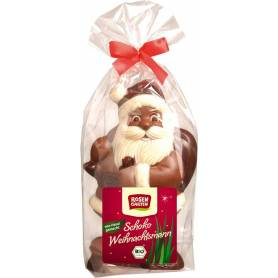 Mos Craciun din ciocolata eco-bio 200g ROSENGARTEN