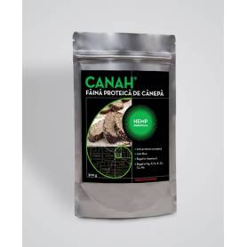 Pudra proteica din seminte de canepa 500g Canah