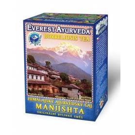 Ceai ayurvedic pentru boala capusei si boala Lyme - MANJISHTA - 100g Everest Ayurveda