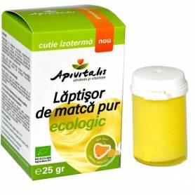 Laptisor de matca pur eco-bio 25g - Apivitalis