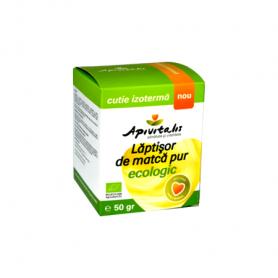 Laptisor de matca pur eco-bio 50g - Apivitalis