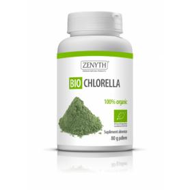 Bio Chlorella pulbere 80g Zenyth