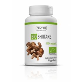 Bio Shiitake pulbere 80g - Zenyth