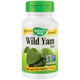 WILD YAM 425mg 100cps - Natures Way - Secom