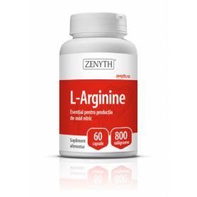 L-Arginina 800mg 60cps - ZENYTH