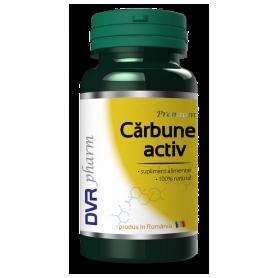 Carbune medicinal activ 60cps - DVR Pharm