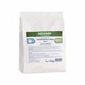 Sare regeneranta masina de spalat vase bio 2kg SODASAN