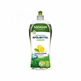 Detergent vase bio lichid lamaie 1000ml Sodasan