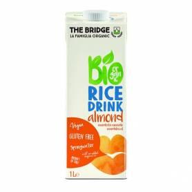 Lapte vegetal de orez cu migdale 1l ECO-BIO - The Bridge