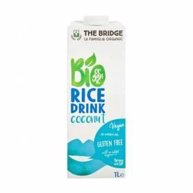 Lapte vegetal de orez cu cocos 1l ECO-BIO - The Bridge