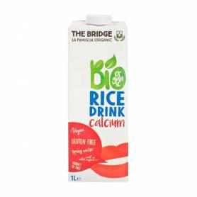 Lapte vegetal de orez cu calciu 1l ECO-BIO - The Bridge